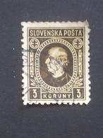Slovakia - 1939 - Mi:SK 42XA, Sn:SK 33, Yt:SK 50 O - Look Scan - Gebraucht
