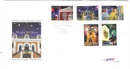 Curacao FDC E40 Zonder Adres. Kerstpostzegels, Christmas Stamps, Date Of Issue: 13-11-2013 - Curaçao, Nederlandse Antillen, Aruba