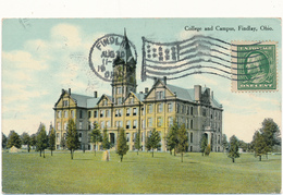 OH - FINDLAY - College And Campus - Etats-Unis