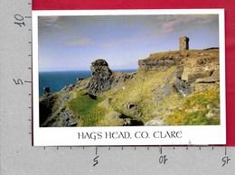 CARTOLINA VG IRLANDA EIRE - CLARE - Hag's Head - 10 X 15 - ANN. 2004 - Clare