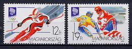 Hungary 1994 Olympic Games Lillehammer Set Of 2 MNH - Winter 1994: Lillehammer
