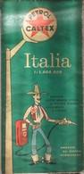 CARTA STRADALE  - ITALIA - 1:1.000.000 - PETROL CALTEX - Anni '70 - Carte Stradali