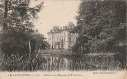 Hautes-pyrénées : LASCAZERES : Chateau Du Marquis De Franclieu ( Au Dos Tampon Perlé - Lascazères ) - Autres Communes