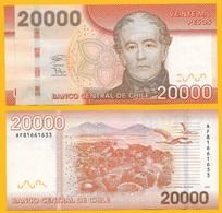 Chile 20000 (20'000) Pesos P-165 2018 UNC - Chili