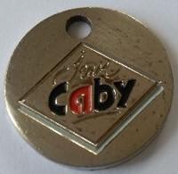 Jeton De Caddie - Charcuterie - Jean CABY - En Métal - - Jetons De Caddies