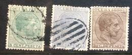CUBA - 1880 Selection - Cuba (1874-1898)