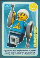 Lego Trading Card - Create The World - 104 Clumsy Guy - Trading Cards