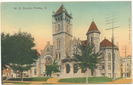 OH - FINDLAY - M. E. Church - Etats-Unis