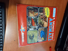 Il Mondo Degli Animali  (Panini 1970)  Album Figurine Completo - Other Collections