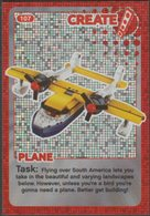 Lego Trading Card - Create The World - 107 Plane - Trading Cards