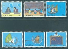 TOKELAU - MNH/** - 1988  - POLITIC - Yv 160-165 -  Lot 18382 - Tokelau