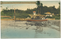 OH - FINDLAY - Steamer Landing Riverside Park - Etats-Unis