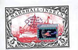 Carte Maximum 1984 Peche - Marshall