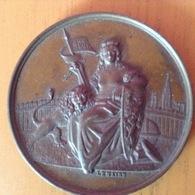 Stad Gent. 11 Juni 1882 .Eerste Steen Der Kaaimuren Van De Voorhaven - Unclassified