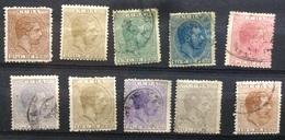CUBA - 1882-1883 Alfonso Selection - Cuba (1874-1898)