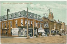 OH - FINDLAY - Main And W. Crawford Streets - Etats-Unis