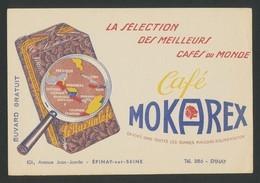 Buvard - MOKAREX - MEILLEURS CAFES DU MONDE - Buvards, Protège-cahiers Illustrés