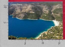 CARTOLINA VG GRECIA - LEYKADA LEFKADA - Poros - 10 X 15 - ANN. 2000 - Grecia