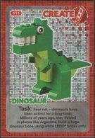 Lego Trading Card - Create The World - 111 Dinosaur - Trading Cards