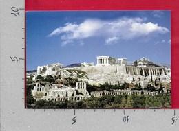 CARTOLINA VG GRECIA - ATENE ATHENS - View Of The Acropolis - 10 X 15 - ANN. 2003 - Grecia