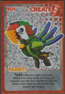 Lego Trading Card - Create The World - 113 Parrot - Trading Cards