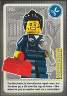 Lego Trading Card - Create The World - 115 Mechanic - Trading Cards