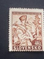 Slovakia - 1939 - Mi:SK 44, Sn:SK 41, Yt:SK 51 O.G. - Look Scan - Slowakische Republik