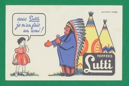 Buvard - Bonbon LUTTI - Buvards, Protège-cahiers Illustrés