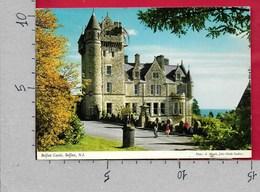 CARTOLINA VG REGNO UNITO - IRLANDA DEL NORD - BELFAST - The Castle - 10 X 15 - ANN. 1979 - Antrim / Belfast