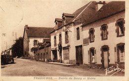 DPT 29 TREGOUREZ Entrée Du Bourg Et Mairie - France