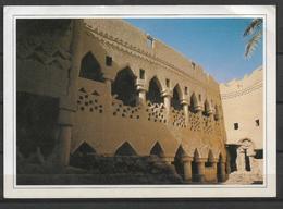 SAUDI ARABIA POSTCARD MUD HOUSE WITH GALLERY UNAYZAH - Saoedi-Arabië