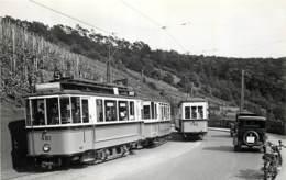 Allemagne - Stuttgart - Foto 14 X 9 Cm - Straßenbahn Baujahr 1925-1926 - Tramway Tram - Neuauflage - Lieux
