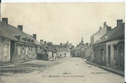 BOULOIRE - Rue Du Jeu De Paume ( Usure Au Dos, Voir Scan) - Bouloire