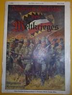 Revue Illuftrierte Befchichte Des Meithrieges N°1 1914 - Revues & Journaux