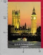 CARTOLINA VG REGNO UNITO - LONDON - The Houses Of Parliament - Big Ben - 10 X 15 - ANN. 2009 - Houses Of Parliament
