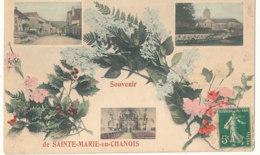 70 // SAINTE MARIE EN CHANOIS    Souvenir Multivues, Colorisée  ** - Francia