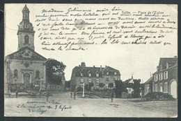 +++ CPA - TELLIN - Place De L'Eglise - Desaix  // - Tellin
