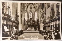 Ak Deutschland - Blaubeuren - Kloster,Kirche,church, Eglise - Hochaltar Mit Chorgestühl - Kirchen U. Kathedralen