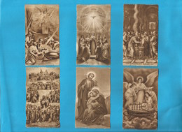 Lotto 6 Santini Serie EB Seppia Fustellati Circoncisione E Spirito Santo 362,238,135,351,592,394 #Santino #Collezionismo - Religion & Esotericism