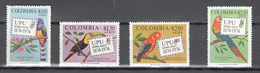 Colombia 1974,4V In Set,birds,vogels,vögel,oiseaux,pajaros,uccelli,aves,UPU,MNH/Postfris(A3568) - Vogels