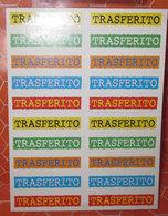 AGGIORNAMENTO FIGURINE CALCIATORI PANINI 2001/02 TRASFERITO - Panini