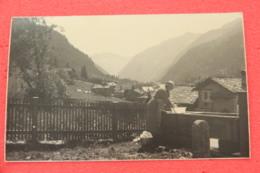 Val Gressoney Aosta Lavandaia Al Lavoro Rppc Ed. Ferrania NV  Agosto 1960 Scritto A Matita - Italie