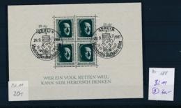 D.-Reich Nr. Block 11  -bitte Zettel Beachten....    (zu188  ) Siehe Scan - Deutschland