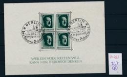 D.-Reich Nr. Block 7  -bitte Zettel Beachten....    (zu293  ) Siehe Scan - Deutschland