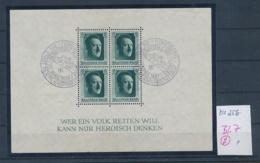 D.-Reich Nr. Block 7  -bitte Zettel Beachten....    (zu256  ) Siehe Scan - Deutschland