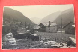 Val Gressoney Aosta Scorcio Rppc Ed. Ferrania NV  Agosto 1960 Scritto A Matita - Italie