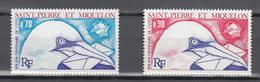 Saint Pierre Et Miquelon 1974,2V In Set,centenario De La UPU 1874-1974,Union Postale Universelle,MNH/Postfris(A3569) - UPU (Universal Postal Union)