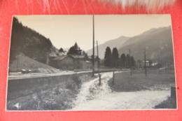 Val Gressoney Aosta Scorcio Rppc Ed. Ferrania NV  Agosto 1960 Scritto A Matita + Piccolo Taglio In Basso - Italia