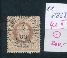 Österreich  Nr.- 41 II  O  (ee8958  ) Siehe Scan - 1850-1918 Impero