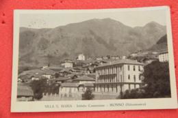 Monno Brescia Villa S. Maria 1940 + Timbro Frazionario - Brescia